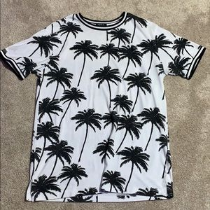 Forever 21 Palm Tree T Shirt